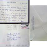 Steven H.Hirth ringrazia Lello Antonelli sartoria antonelli Sartoria Napoletana, artigiano, sarto, sartoria antonelli, sartoria