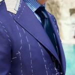 giacca pomeriggio blazer bleu navy sartoria napoletana Sartoria Napoletana, artigiano, sarto, sartoria antonelli, sartoria artigianale, artigianato napoletano, napoli
