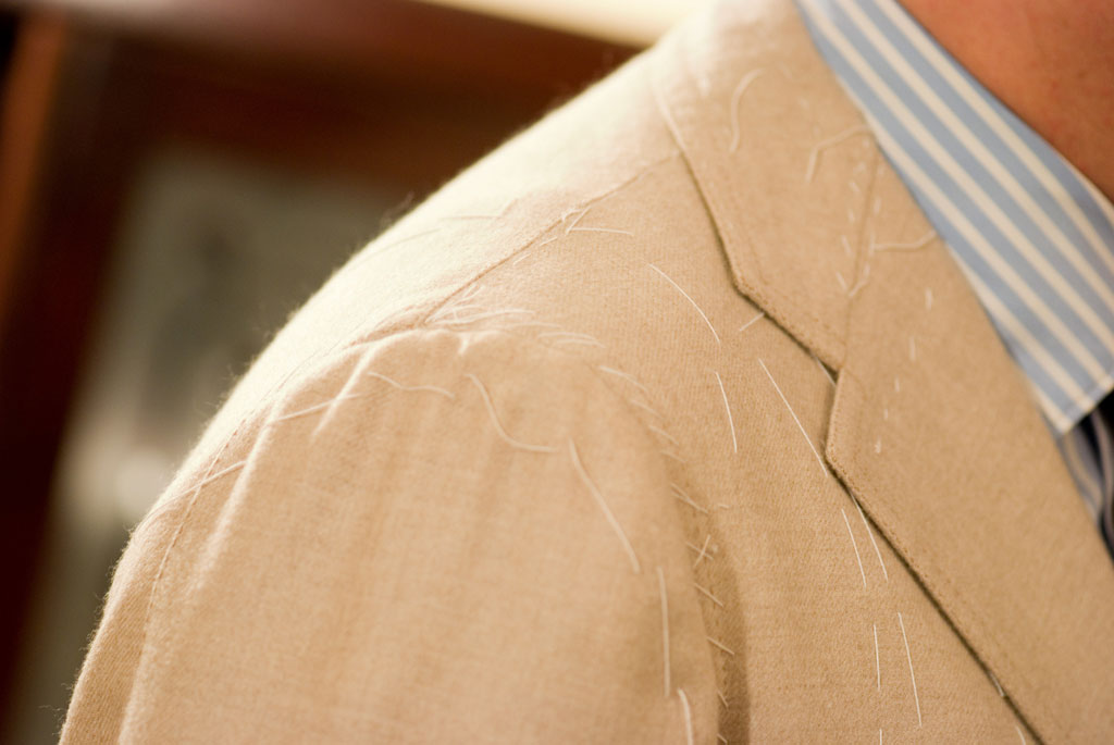 giacca mattina in cachemire sartoria napoletana Sartoria Napoletana, artigiano, sarto, sartoria antonelli, sartoria artigianale, artigianato napoletano, napoli