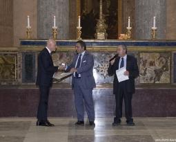 """Premio """"Carlo La Catena"""" al Maestro sartore Raffaele Antonelli"""