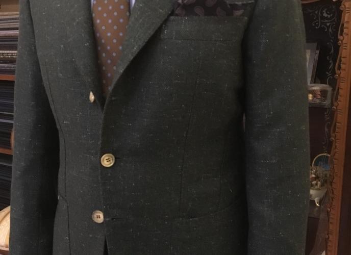 Giacca puro cachemire Tweed