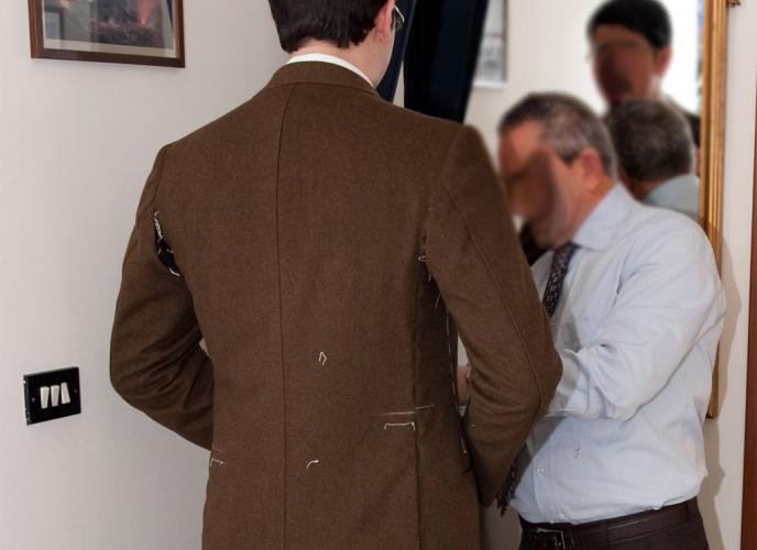 Cappotto classico lana merinos
