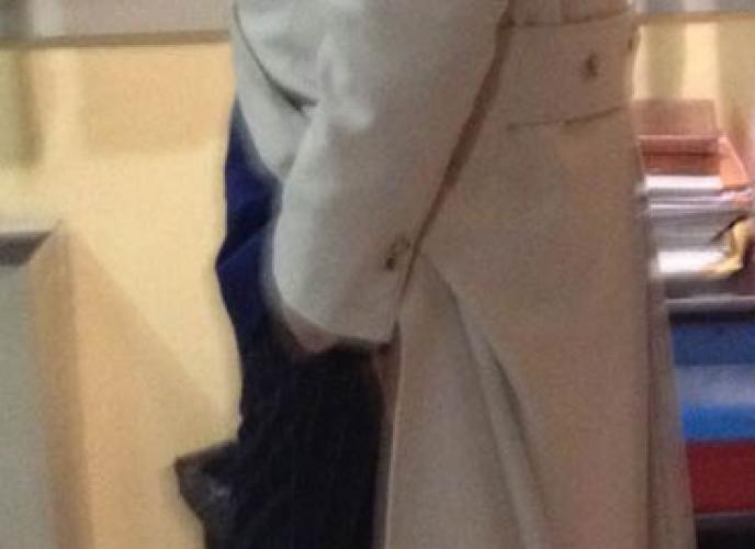 Cappotto classico doppiopetto merinos
